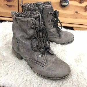 Jellypop Lace Up Booties Shoes Boots Sz 8.5